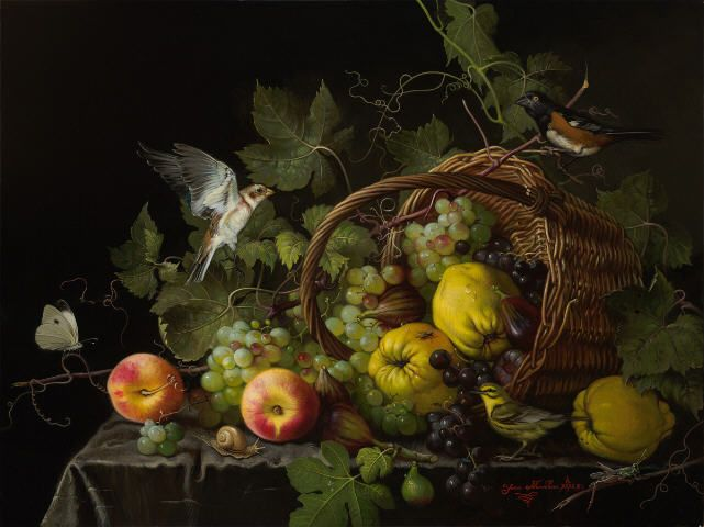 Artist: Yana Movchan, Title: Orchard Generosity - click to close window