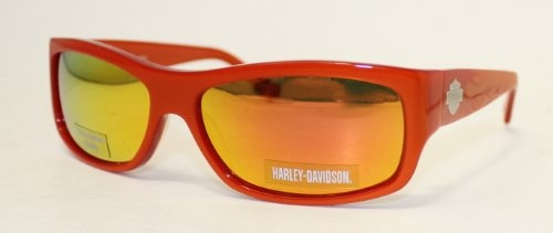 Harley Davidson Sunglass Orange Modified Plastic Rectangle Sunglass, Orange Flash Lens HDX 833 | bikeraa.com  http://bikeraa.com/harley-davidson-sunglass-orange-modified-plastic-rectangle-sunglass-orange-flash-lens-hdx-833/