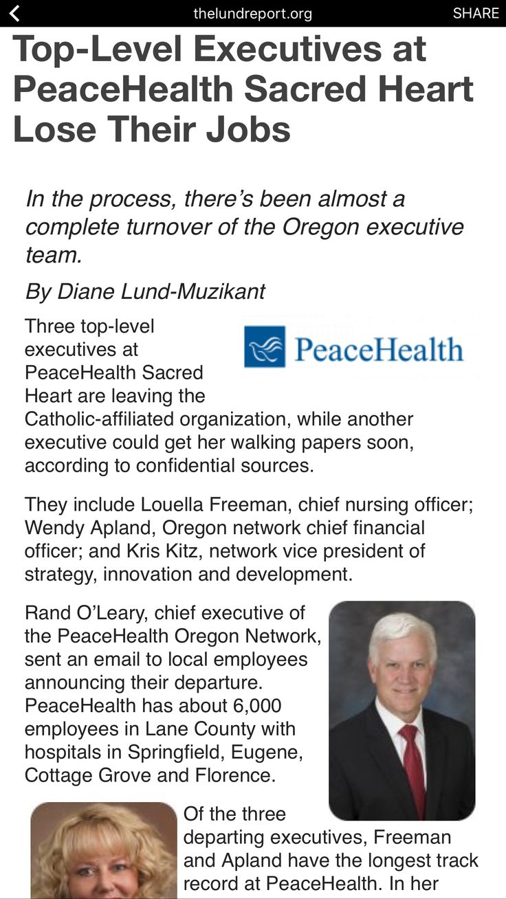 Peace health 1/3