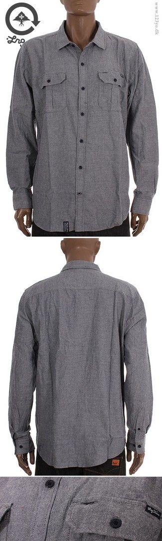 LRG Langærmede Cotton skjorte