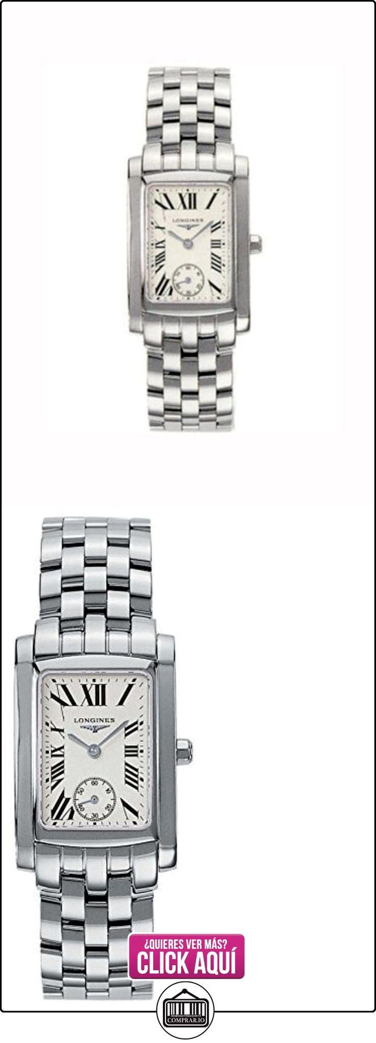 Longines  L55024716 - Reloj de cuarzo para mujer, con correa de acero inoxidable, color plateado  ✿ Relojes para mujer - (Lujo) ✿ ▬► Ver oferta: https://comprar.io/goto/B004YGRF86