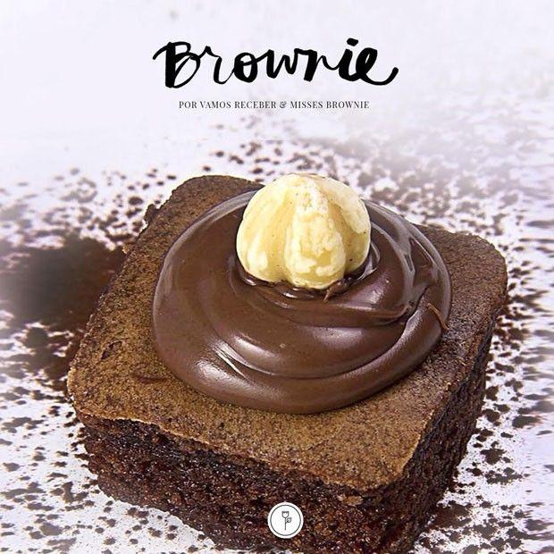#Receita: Brownie Nutella