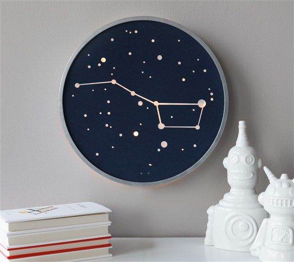 DIY Constellation Art // Big Dipper Light