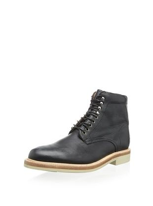 52% OFF JD Fisk Men's Jamie Lace-Up Boot (Black)