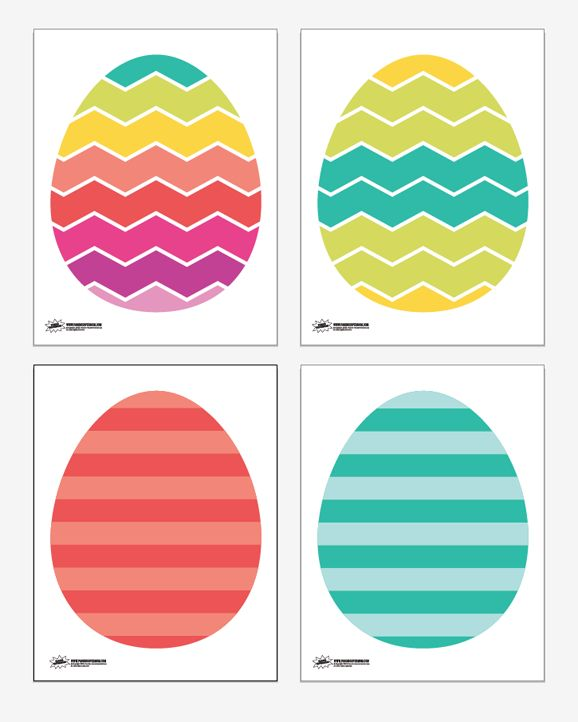 Free Printable Easter Egg Lacing Activity