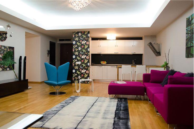 Transformarea unui apartament de trei camere intr-unul de doua!