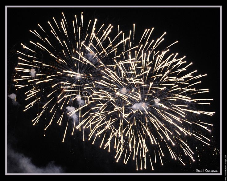 feu d'artifice tournai fete nationale