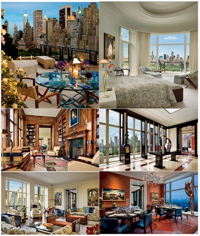 Former Citigroup Ceo S Nyc For 88 Million Pent House New York Homes Condo Living
