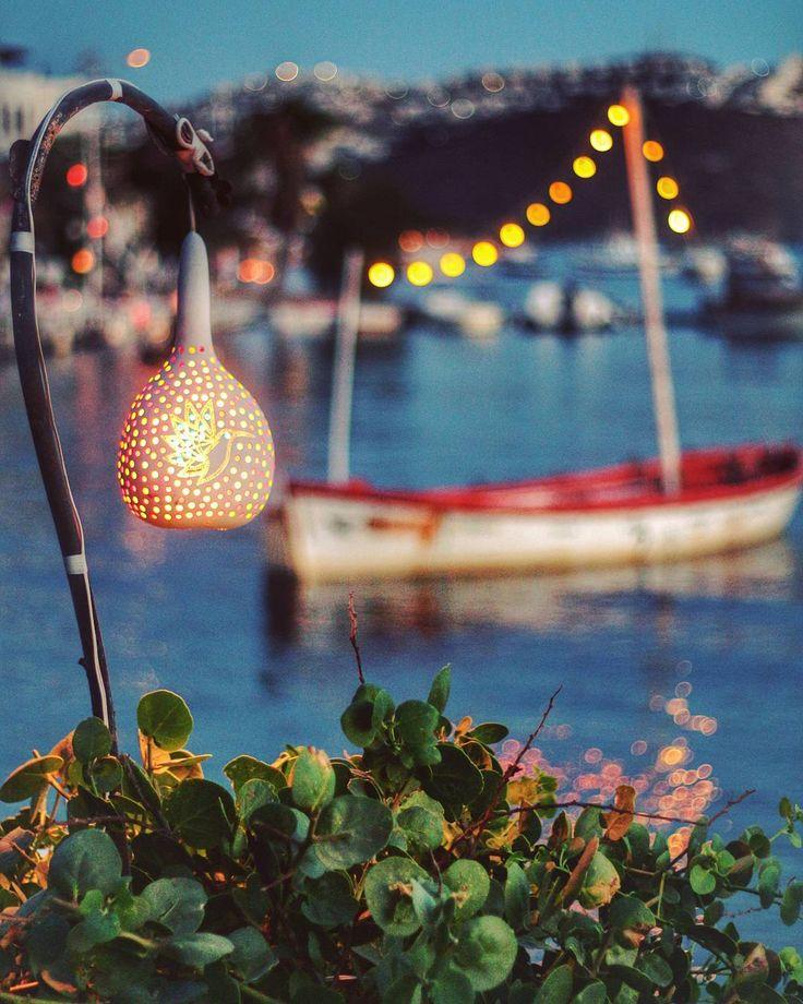 Evening in Myndos #Gümüşlük #Bodrum #Turkey // Photographer: frht.idog