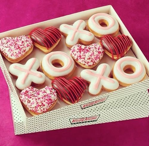 Valentines Day Doughnuts from Krispy Kreme Available January 26th