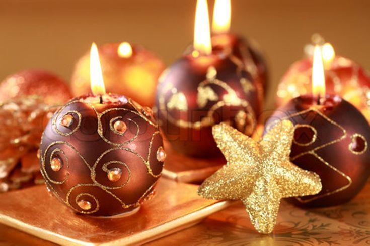 Velas decoracion navidad