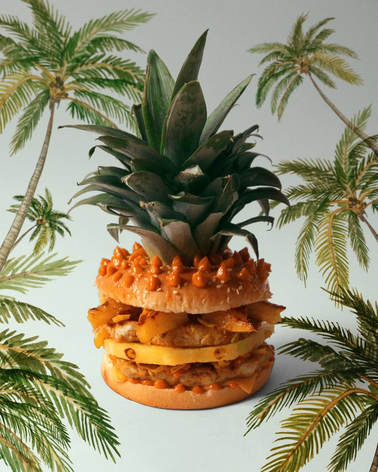 The Piña Burger | 32 Of The Most Creative And Amazing Burgers You'll Ever See
