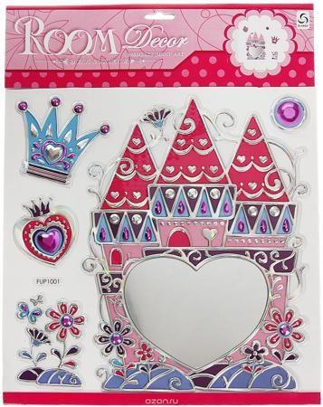 """Наклейка зеркальная Замок принцессы 39,5х30,5 см  — 308р. ------ Такая эффектная наклейка зеркальная """"Замок принцессы"""" не доставит особых хлопот с ее нанесением на поверхность. Их можно наклеить на стены в детской, спальной или прихожей, на скрап-изделие, предметы интерьера и многое другое. Стоит отметить, что это не просто обычная наклейка, ее поверхность создана из специального материала, который зрительно расширяет всю композицию. Благодаря этому она становится светлей и переливается в…"""