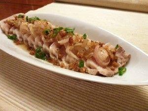 Asian Salad - Kerabu Pork Belly; nice and simple way to enjoy cold ...
