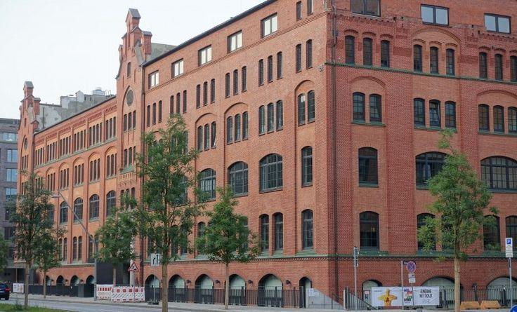 Flexible Arbeitsplätze im Loftbereich in der Hafencity #Büro, #Bürogemeinschaft, #Office, #Coworking, #Hamburg