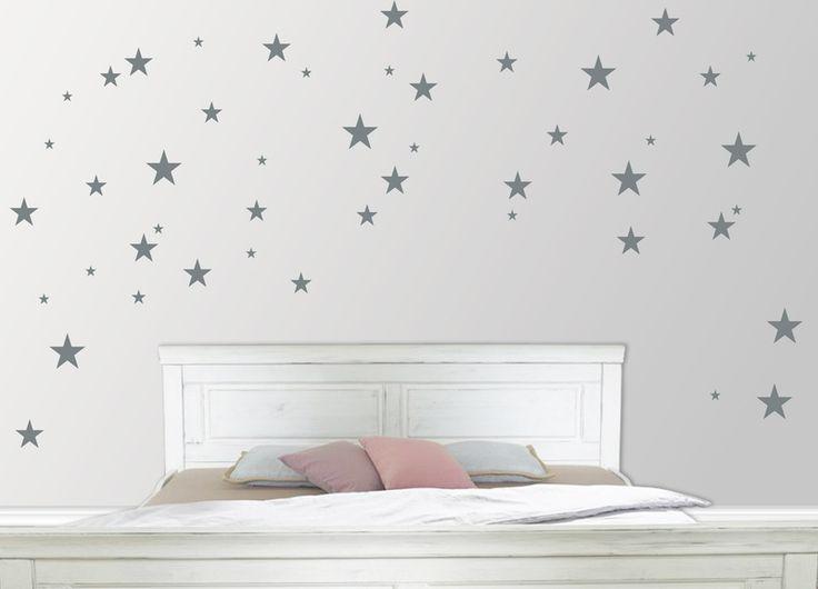 17 best ideas about sterne on pinterest star decorations - Wandtattoo sterne grau ...