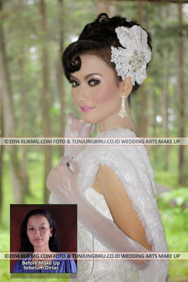 Bridal Wedding Gown - Tata Rias, Busana & Tata Rambut oleh Tunjungbiru.co.id Rias Pengantin Purwokerto - Foto oleh : klikmg Fotografi - Talent : Lusie