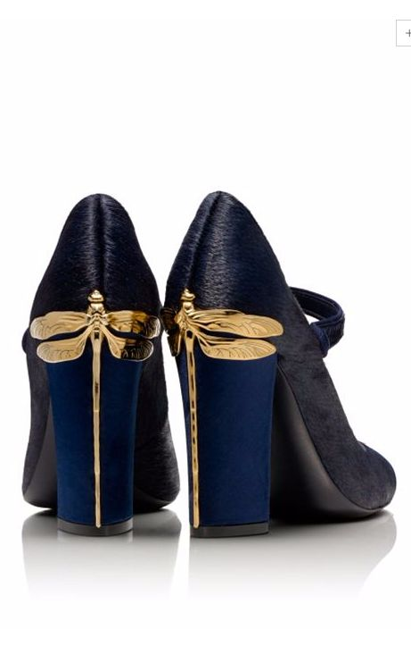 Dragonfly Heels / tory burch, a little high but I love dragonflies.