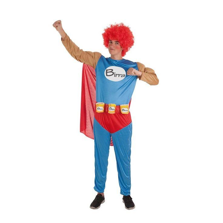 Disfraz Superbirra Adulto