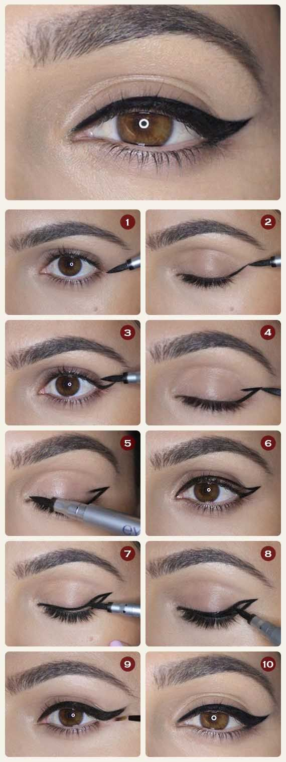 Types of Eyes And How Put Eyeliner On Them