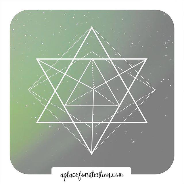 "Merkaba ~ ""Mer"" meaning Light. ""Ka"" meaning Spirit. ""Ba"" meaning Body.  #energy #sacred #reiki #wisdom #crystals #goodvibes #spiritual #divinelight #mindfulness #crystalhealing #wellness #intention #breathe #energyhealer #chakrahealing #love #namaste #meditation #yogaeveryday #peace #yogalife #yogainspiration #balance #inspiration #yogapose #yoga #Merkaba #spirituality"