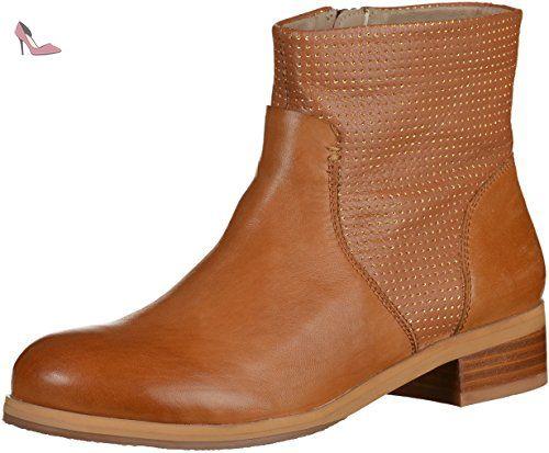 SPM 18796608 femmes marron cuir Bottine, EU 37 - Chaussures pms (*Partner-Link)