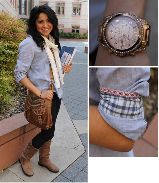 This outfit is perfect for fall #collegeoutfit #fallfashion