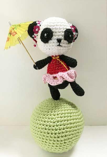 Rio the Circus Panda Amigurumi Circus design contest ...
