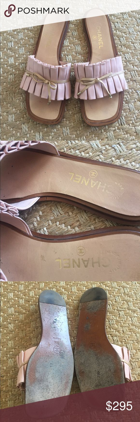 ‼️Chanel 💘 Nice Chanel size 38,5                                      Trade value more! CHANEL Shoes Sandals