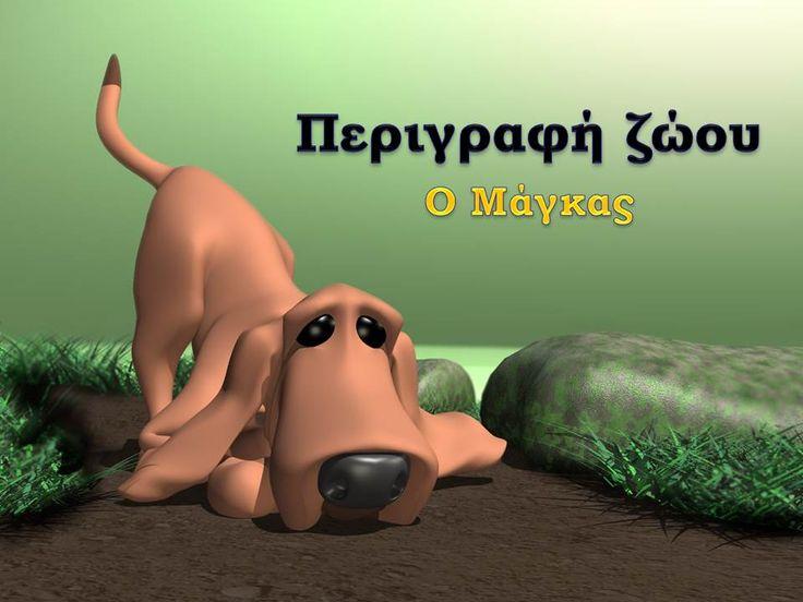 Περιγραφή ζώου - Ο μάγκας Γλώσσα Ε΄ δημοτικού Ενότητα 4: Τα ζώα που ζουν κοντά μας Μάθημα:Ιστορίες με ζώα