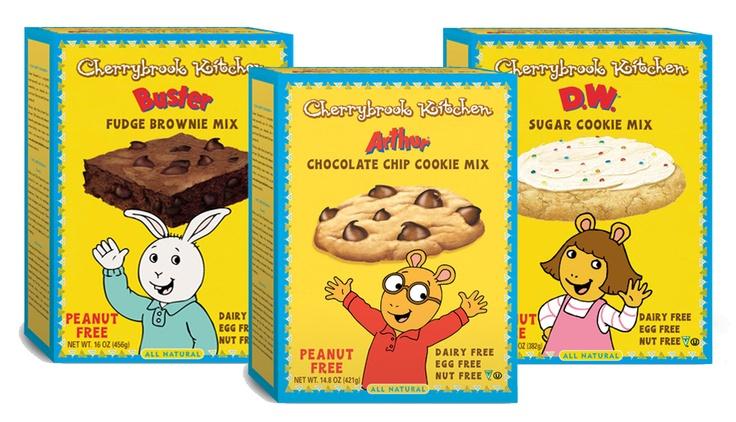 Arthur Line From Cherrybrook Kitchen Peanut Free Egg Free