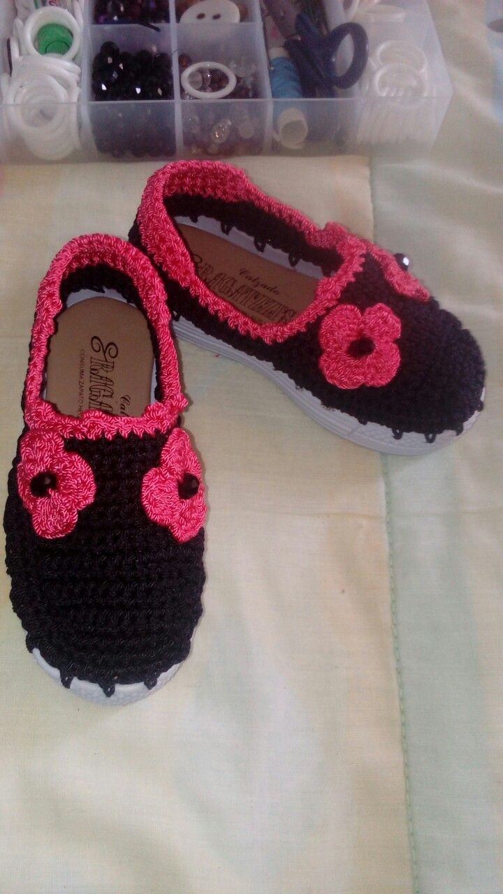 Asombroso Mary Jane Botines Patrón De Crochet Libre Colección ...