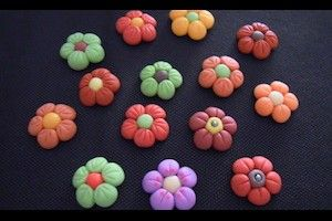 fiori in pasta di mais