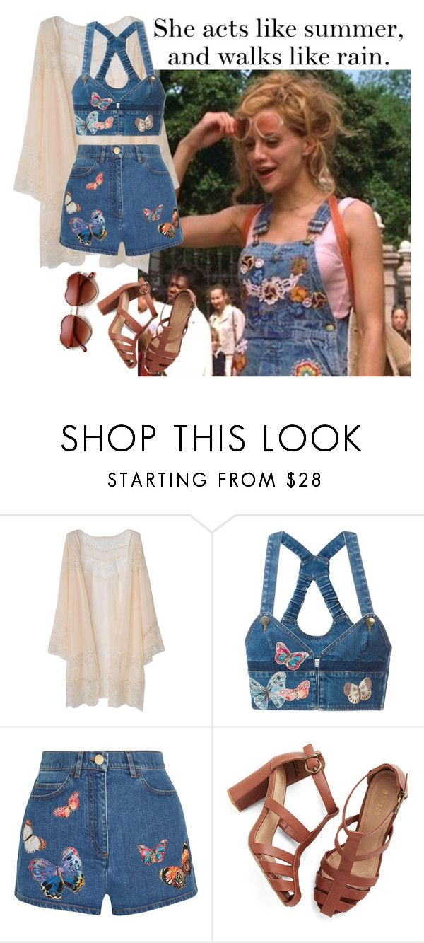 """""""Uptown Girls- 2003 (movie)"""" by kimabalee ❤ liked on Polyvore featuring Valentino"""