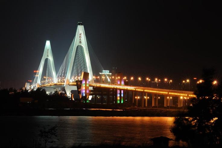 Century Bridge, Haikou, Hainan Province, China