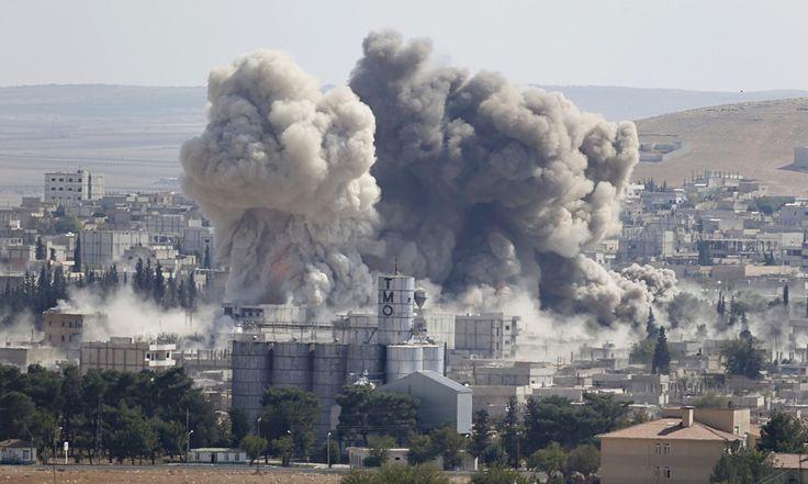 Renewed bombings follow urgent appeals to save Syrian Kurdish border town from jihadis as tension rises in Turkey