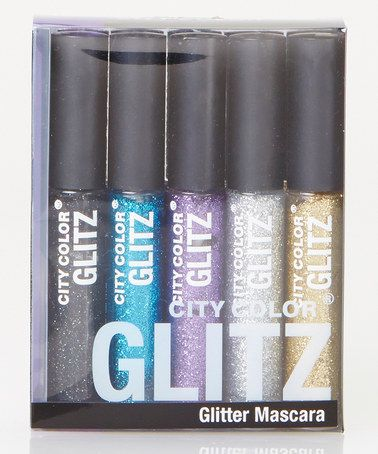 Another great find on #zulily! Glitter Mascara Set by City Color Cosmetics #zulilyfinds