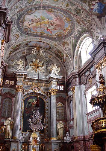 High Altar, Church & Convent of St. Elisabeth, Bratislava, Slovakia