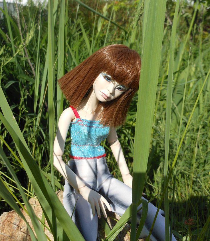 Шарнирная кукла (ладол, 31 см)   BJD (Ladoll) dolls by Zoya Brilliantova