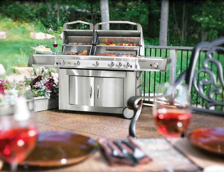 PT750RSBI Prestige® II Series  The next evolution in grilling, stainless steel cooking systems and infrared technology.