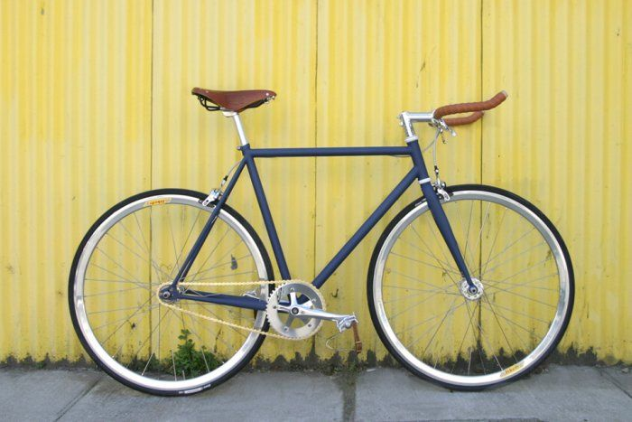 Bicicleta Fixie o Híbrida Cobalto