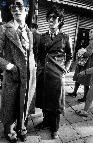 1966(昭和41年)若者。