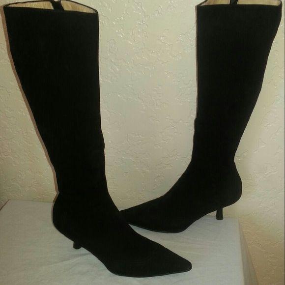 1000  ideas about Kitten Heel Boots on Pinterest