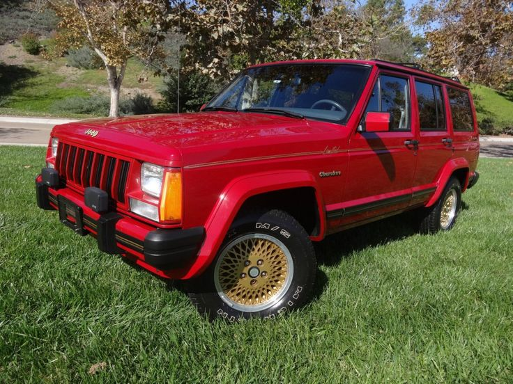1989 Jeep Cherokee Limited 4 0l Jeeps For Sale