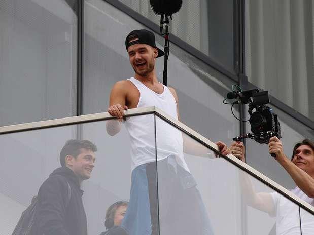 One Direction En Lima: Liam Payne Se Encuentra Con Sus Fans