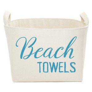 Beach Towels Storage Bin