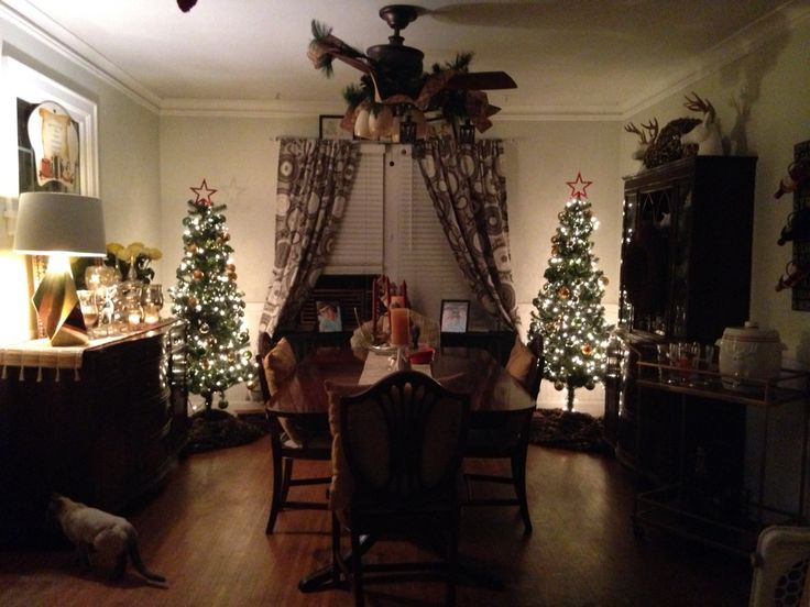 Dining room all dressed up