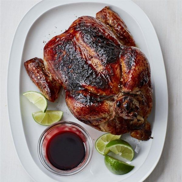 """Pomegranate Chicken 