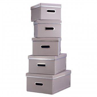 STORE !T Aufbewahrungsboxen uni 5er Set   design3000.de