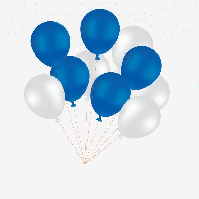 Balloon Balloons White Balloons Blue Balloons